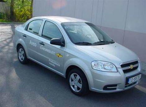 Chevrolet Aveo 1,2 S