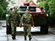 Ruskí vojaci v Gruzínsku