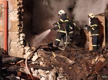 Výbuch v Krompachoch