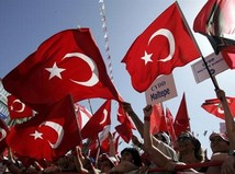 Demonštrácia v Turecku