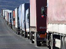 Kamióny,zápcha