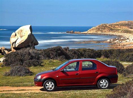 Najlacnejším sedanom je Dacia Logan.