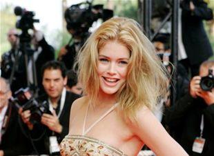 Topmodelka Doutzen Kroes na filmovom festivale v Cannes.