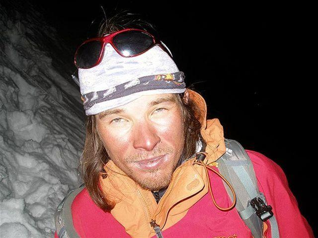 Slovenský horolezec Jozef Kopold.