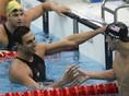 Phelps, Čavič, plávanie, OH 2008