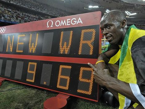 Usain Bolt, atletika