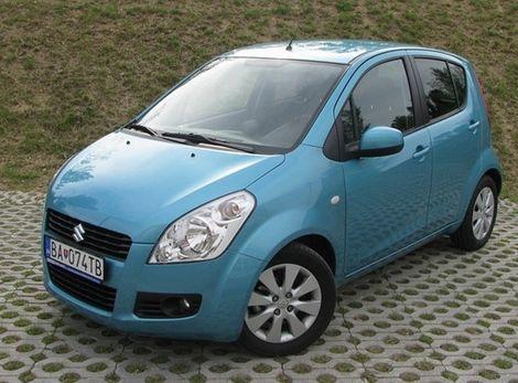 Suzuki Splash ukáže svoje prednosti najmä v preplnenom meste.