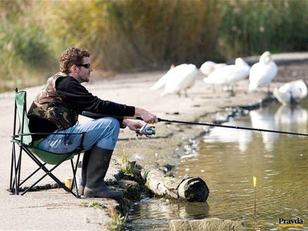rybár, rybačka, rybolov, udica