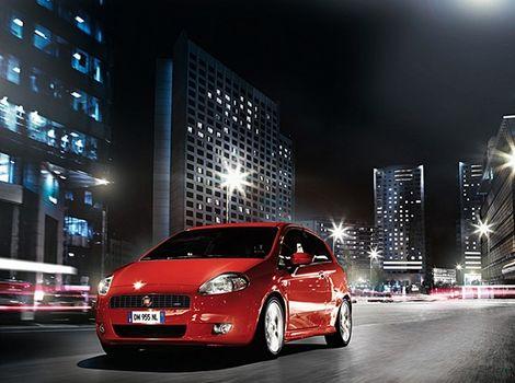 Inovovaný Fiat Punto.