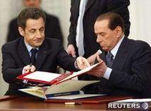 Nicolas Sarkozy, Silvio Berlusconi