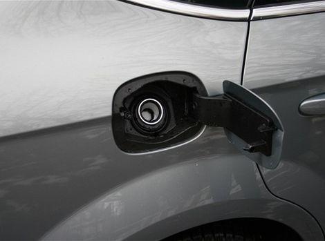 Fordov systém ochrany proti natankovaniu nesprávneho paliva.