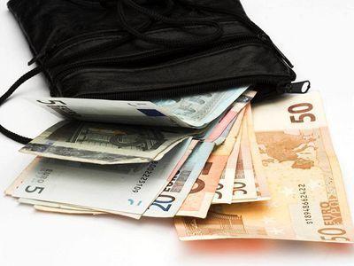 Euro, peniaze, peňaženka