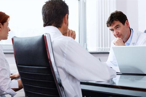 lekár a pacient - konzultácia