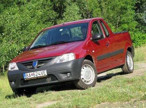 test dacia logan pick up 1 5 dci testy auto. Black Bedroom Furniture Sets. Home Design Ideas