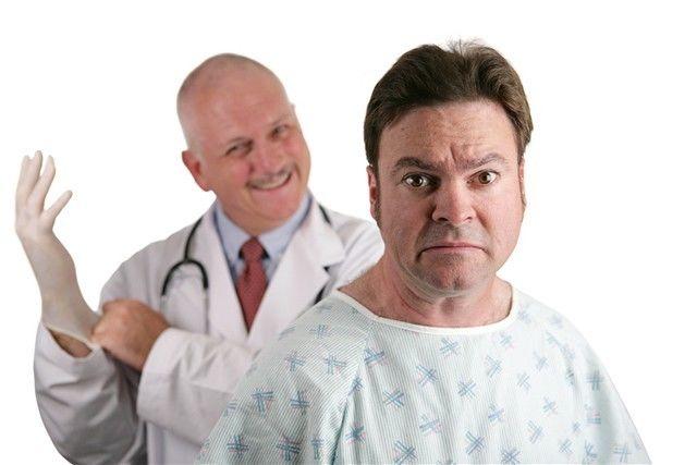 muž - prostata - lekár - strach