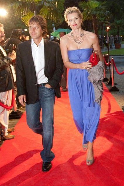 Partneri Pavol Habera a Daniela Peštová patrili k najolsnivejším párom večera. Najmä vďaka nežnejšej polovičky dvojice.