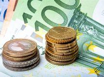 peniaze, euro, mince, bankovky