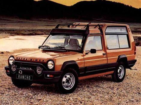 Matra-Simca Rancho je praotcom SUV a crossoverov.
