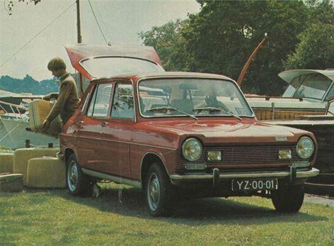 Prvá Simca s predným náhonom - typ 1100.