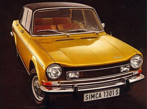 Simca 1300 prešla v roku 1966 faceliftom.
