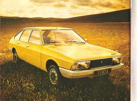 Simca 1307získala titulAuto roka 1976.