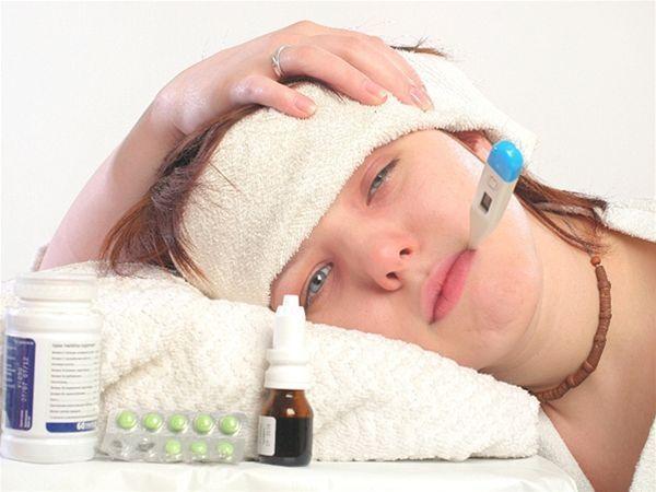 choroba, teplota, chrípka, prechladnutie