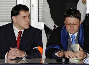 Mikuláš Černák pred prešovským súdom, ktorý mu udelil doživotný trest.