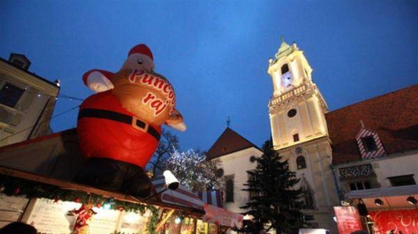 f7aa06509 V centre Bratislavy sa začínajú vianočné trhy - Regióny - Správy - Pravda.sk
