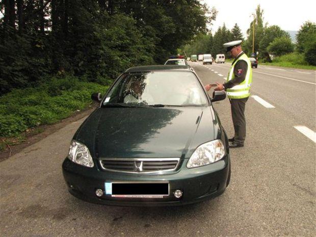 auto, polícia, kontrola, doprava, cesty
