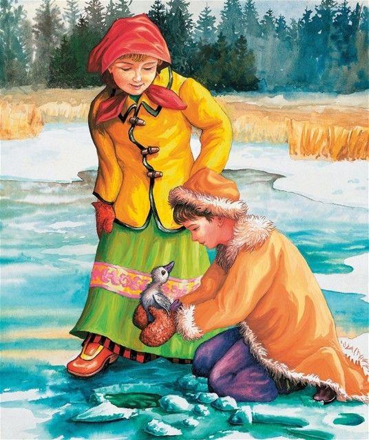 ilustrácia je z knihy Veľká kniha rozprávok (Slovart-Print)