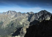 Vysoké Tatry, hory, turistika, skaly