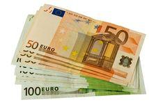euro, bankovky, peniaze