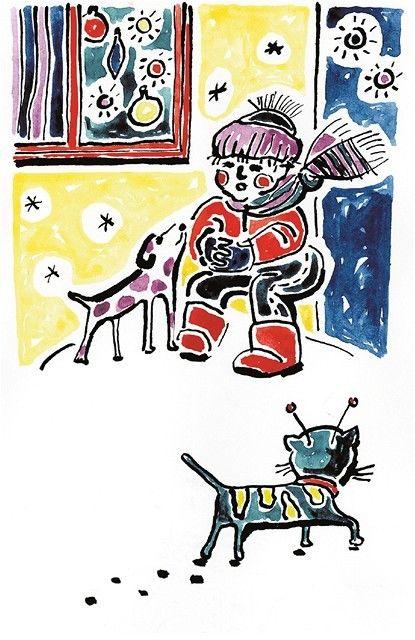 Ilustrácia: Ľudmila Holíková
