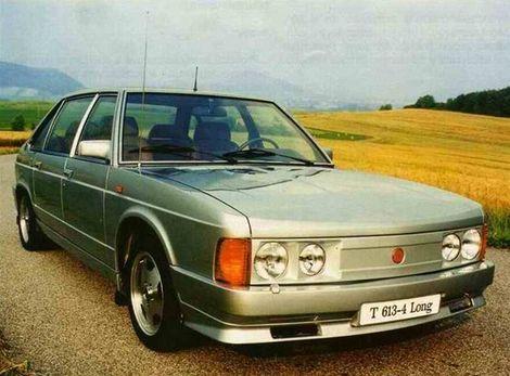 Po roku 1989 stratili záujem o Tatry 613 aj na ministerstvách.