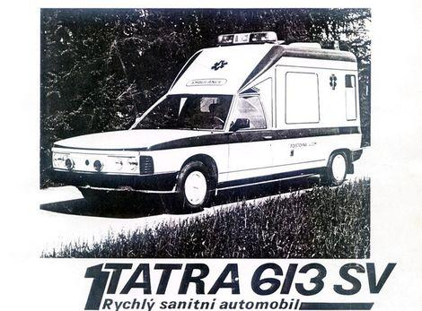 V prospektoch sa objavovalo aj označenie T 613 SV.