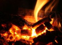 Oheň, krb, palivo