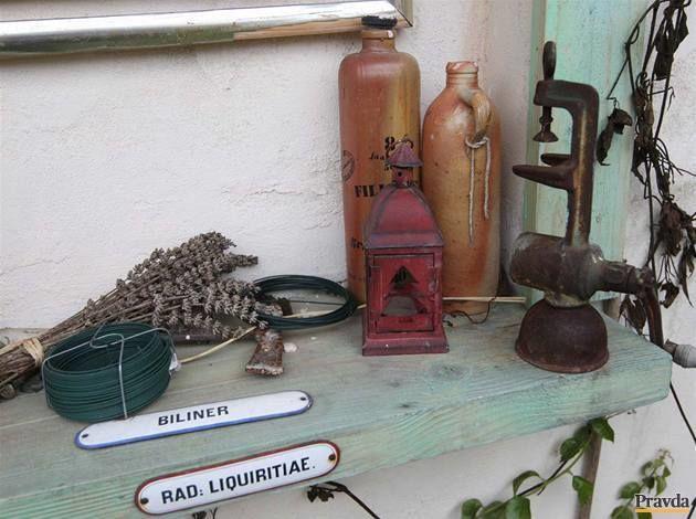 Záhradný domček - detail.
