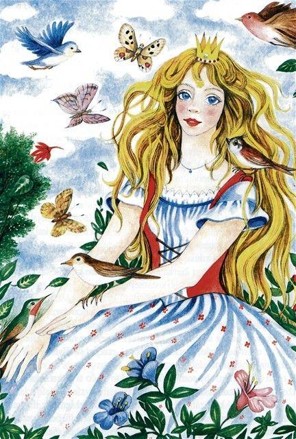 Ilustrácia: Danica Pauličková, z knihy Slnovratka, Mladé letá