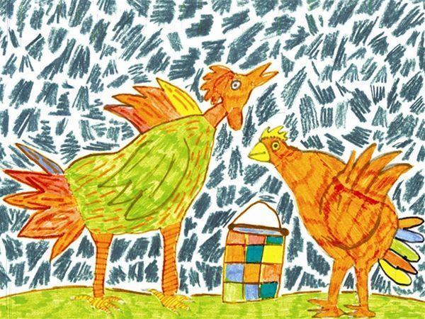 Ilustrácia Martin Sliva, 14 rokov, Špeciálna základná škola Žehrianska, Bratislava