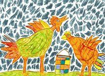 Kohútik a sliepočka
