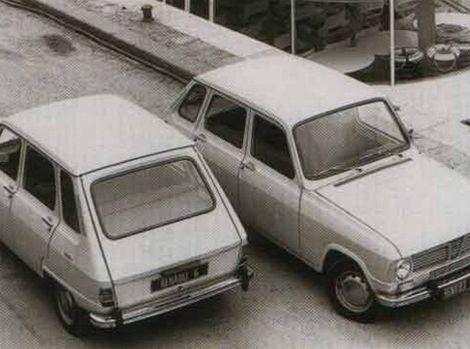 Renault 6 nebol žiadny pretekár, skôr rodinný dostavník.