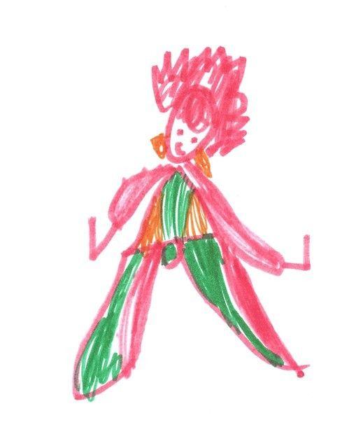 Obrázok nakreslila Magdalénka Mateašíková (6 rokov)