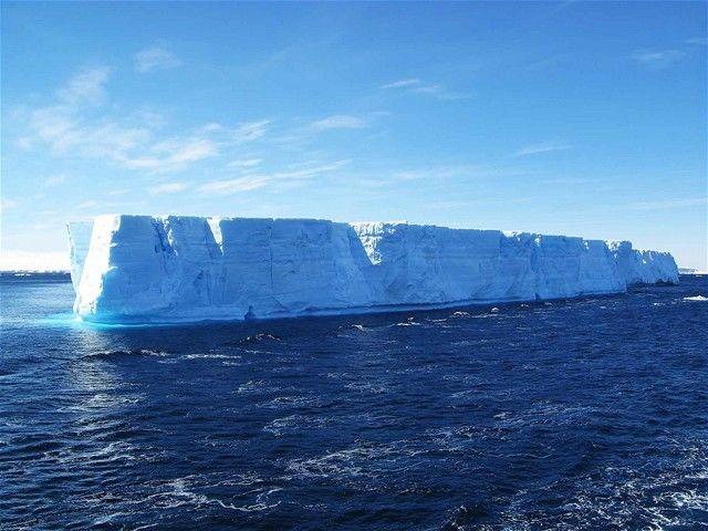 ľadovec, Golfský prúd