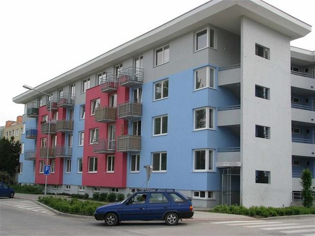 byty, obytný dom, bytovka, Trnava