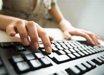 počítač, ruky, bankovníctvo, hacker, klávesnica, písať