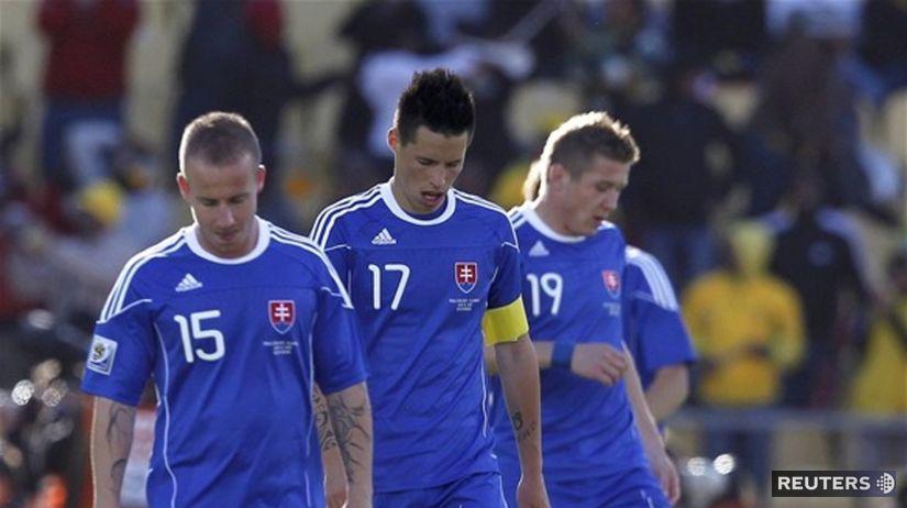 19f0399e73770 Gól z poslednej minúty pripravil Slovákov o historické víťazstvo - MS 2010  - Futbal - Šport - Pravda.sk