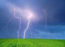 búrka - blesk - hromy - nebezpečenstvo