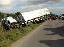 kamión, nehoda