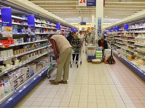 Lednice obchod potraviny