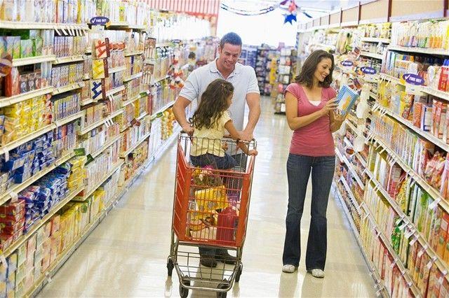 nákup, supermarket, hypermarket, obchod, nakupovanie, inflácia, potraviny